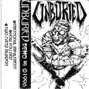 Unburied - Demo #1 cover art