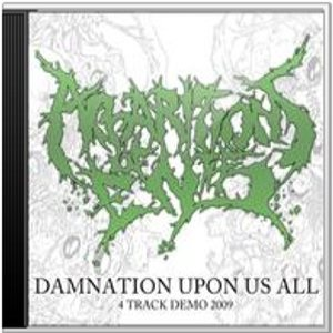 Apparitions of the End - Damnation Upon Us All cover art