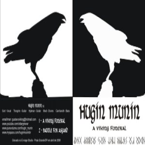 Hugin Munin - A Viking Funeral cover art