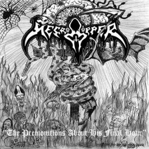 Necroripper - The Premonitions About the Final Hour cover art