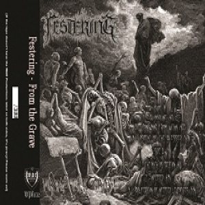 Festering - From the Grave cover art