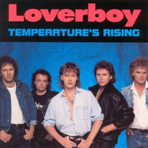 Loverboy - Temperature's Rising cover art