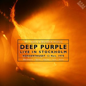 Deep Purple - Live in Stockholm [Live album] [Hard Rock] - Metal ...
