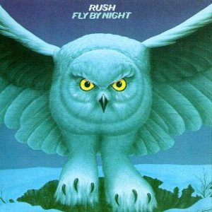 Rush - Fly By Night cover art