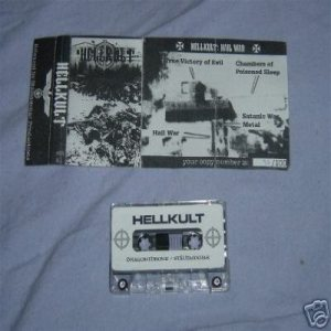 Hellkult - Hail War cover art