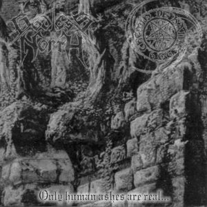Godless North / Chemin de Haine - Only Human Ashes are Real... cover art