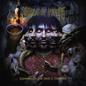 Cradle of Filth - Godspeed on the Devil's Thunder cover art