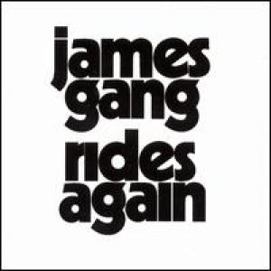 James Gang - Rides Again cover art