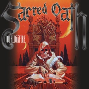Sacred Oath - World on Fire cover art