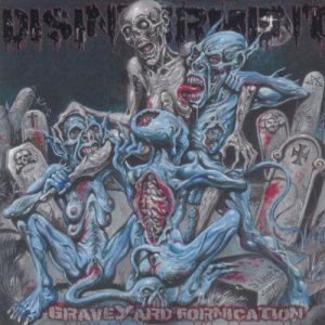 Disinterment - Graveyard Fornication cover art
