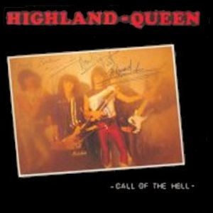 Highland Queen - Call of the Hell cover art