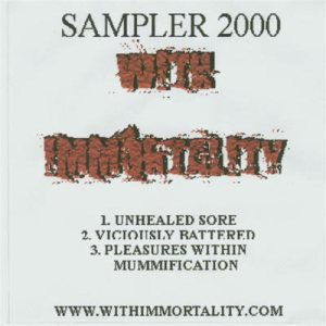 With Immortality - Sampler 2000 cover art