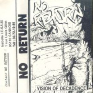No Return - Vision of Decadence cover art