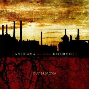 Antigama - Roots of Chaos cover art