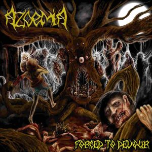 Azoemia - Forced to Devour cover art