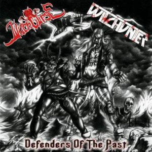 Witchcurse / Witchunter - Defenders of the Past cover art