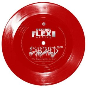Exhumed - Decibel Flexi Series - the Beginning After the End cover art
