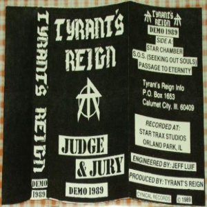 Tyrant's Reign - Judge and Jury cover art