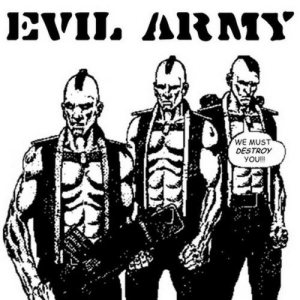 Evil Army - Cleancut, Paralyzed and Heroic / Evil Army cover art