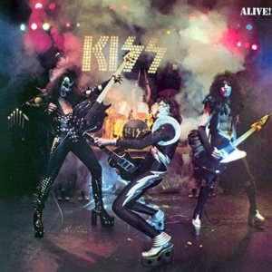 Kiss - Alive! cover art