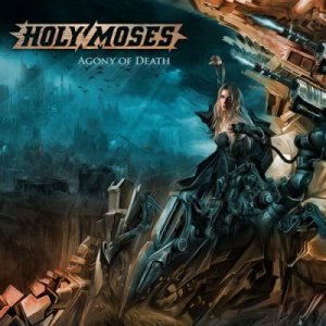 Holy Moses - Agony of Death cover art