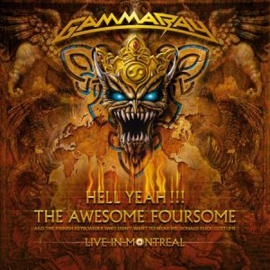 Gamma Ray - Hell Yeah! the Awesome Foursome cover art