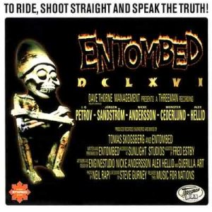 Entombed - To Ride, Shoot Straight and Speak the Truth cover art