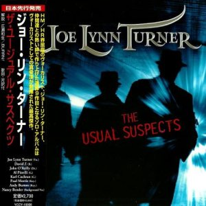 Joe Lynn Turner - The Usual Suspects cover art