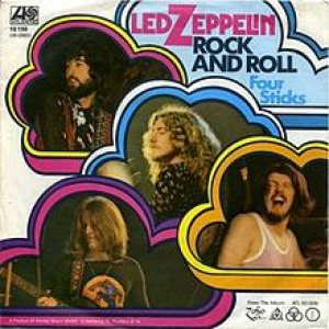 Led Zeppelin - Rock and Roll cover art