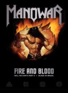 Manowar - Fire and Blood cover art