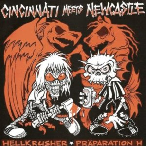 Hellkrusher - Cincinnati Meets Newcastle cover art