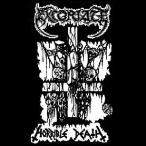 Excoriate - Horrible Death cover art