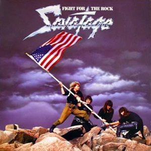 Savatage - Fight for the Rock cover art