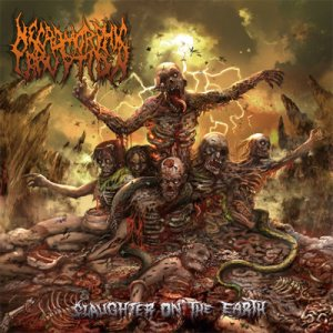 Necromorphic Irruption - Slaughter on the Earth cover art