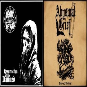 Denial of God - Resurrection of the Damned / Brides of the Goat cover art