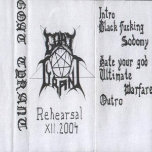 Goat Tyrant - Rehearsal XII.2004 cover art