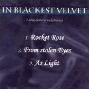 In Blackest Velvet - 3 Song Demo'ntrackstration cover art