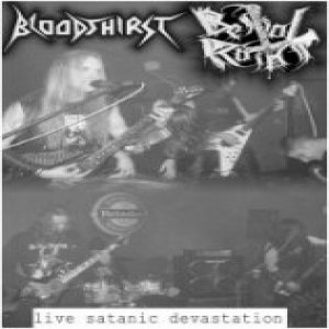 Bestial Raids - Satanic Live Devastation cover art