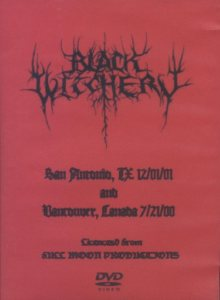 Black Witchery - Live in San Antonio and Vancouver cover art