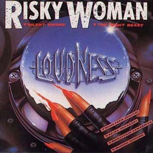 Loudness - Risky Woman cover art