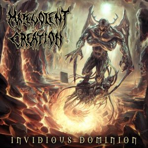 Malevolent Creation - Invidious Dominion cover art