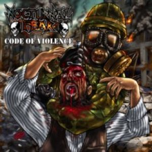 Nocturnal Fear - Code of Violence cover art