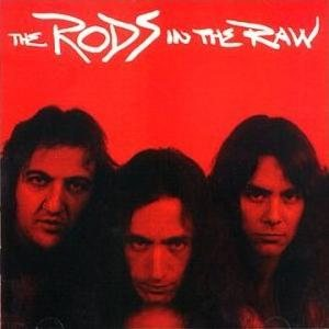 The Rods - In the Raw cover art