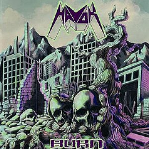 Havok - Burn cover art