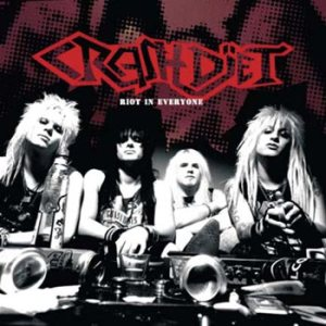 Crashdiet - Riot in Everyone cover art