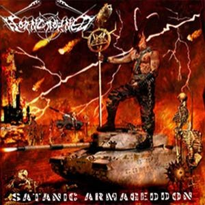 Horncrowned - Satanic Armageddon cover art