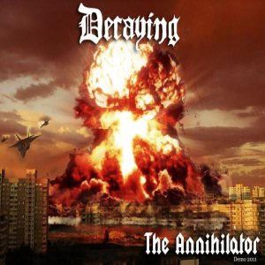 Decaying - The Annihilator cover art