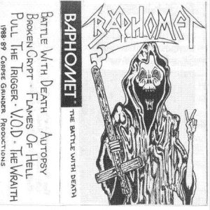 Baphomet - The Battle With Death cover art