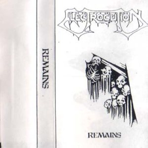 Electrocution - Remains cover art