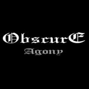 Obscure - Agony cover art